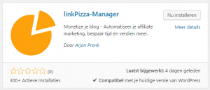 linkpizza wordpress
