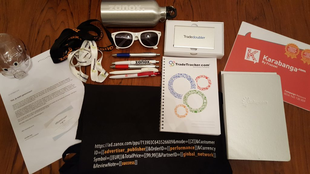 Affiliateblogger goodiebag