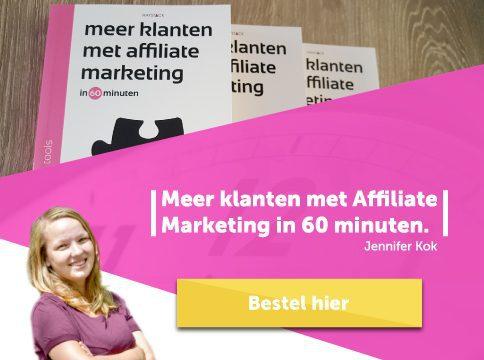 Voorbeeld zelfgemaakte affiliate banner