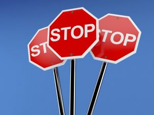 Stop! Doe geen affiliate marketing