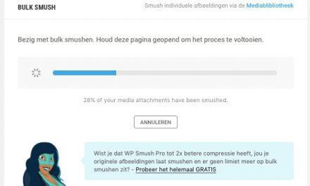 WP Smush: jouw websitesnelheid omhoog