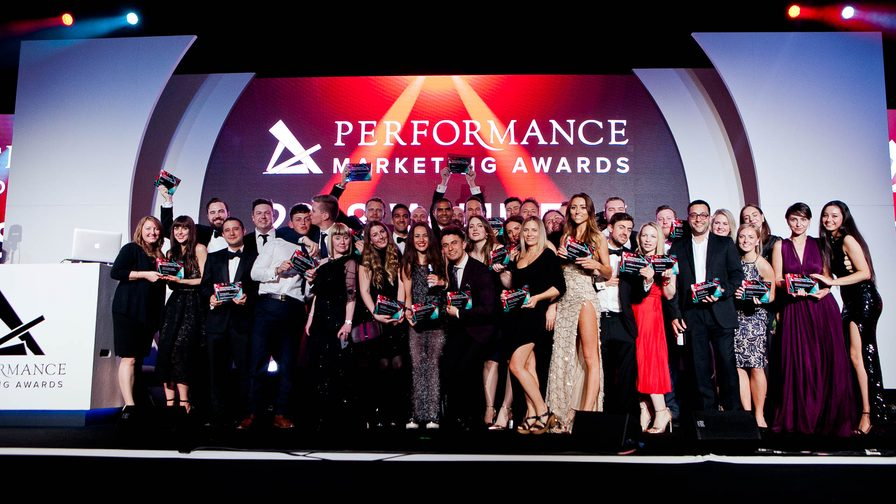 De winnaars tijdens de Performance Marketing Awards 2018