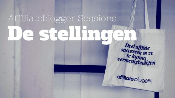Affiliateblogger Sessions Stellingen