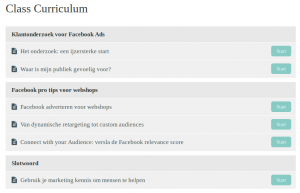 facebook adverteren module
