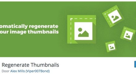 Tool review: Regenerate Thumbnails